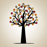 Artistic tree design Royalty Free Stock Image