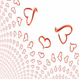 Artistic Valentines background Royalty Free Stock Photos
