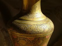 Artistic vase Royalty Free Stock Image