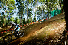 Artistic view at Greg Minaar Racing and Mongoose Stock Photography