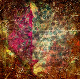 Artistic vintage grunge colored on window texture stock photography