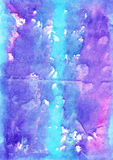 Artistic  watercolour   multicolor  background  for scrapbooking Royalty Free Stock Image