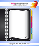 Artistic WebDesign Template Royalty Free Stock Images