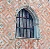 Artistic window. In San Marco square Royalty Free Stock Images