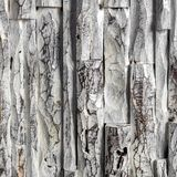 Artistic wood panel detail. Detail of carved wood paint with acrylic colors stock image