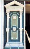 Artistic wooden door Stock Photos