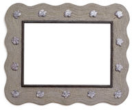 Artistic wooden frame Royalty Free Stock Images