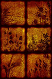 artistical μοντέρνος τρύγος ανασκό Στοκ εικόνες με δικαίωμα ελεύθερης χρήσης