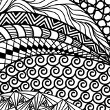 Artistically ethnic pattern. Stock Photo