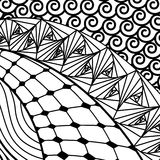Artistically ethnic pattern. Royalty Free Stock Photography