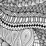 Artistically ethnic pattern. Stock Photography