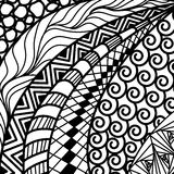 Artistically ethnic pattern. Royalty Free Stock Photo