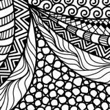 Artistically ethnic pattern. Stock Photos