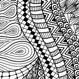 Artistically ethnic pattern. Stock Image