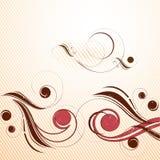 Artistiek achtergrond en ontwerp Stock Illustratie