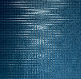 Artistiek blauw aquapatroon op zwarte Stock Afbeeldingen