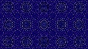Artistiek caleidoscopisch kleurenpatroon Stock Foto's