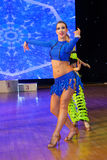Artistiek Dans Europees Kampioenschap WADF Royalty-vrije Stock Afbeeldingen
