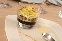 Artistiek Dessert Royalty-vrije Stock Afbeeldingen