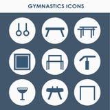 Artistiek gymnastiekmateriaal stock illustratie