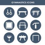 Artistiek gymnastiekmateriaal vector illustratie