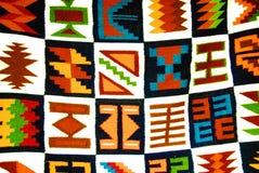 Artistiek linnenpatroon Royalty-vrije Stock Afbeelding
