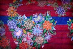 Artistiek Mexicaans borduurwerk stock afbeelding