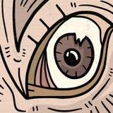 Artistiek Oog stock illustratie