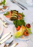 Artistiek Voedsel royalty-vrije stock afbeelding