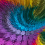 Artistieke achtergrond van trillende kleuren Stock Afbeelding