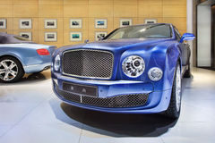Artistieke Bentley-toonzaal in Peking, China Stock Foto
