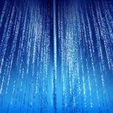 Artistieke blauwe achtergrond Stock Foto