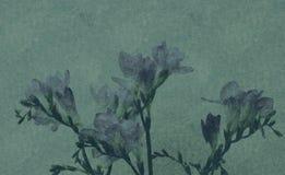 Artistieke bloemachtergrond Stock Afbeelding