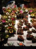 Artistieke bloemboeketten Royalty-vrije Stock Foto