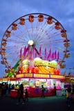 Artistieke Carnaval-Ritscène Royalty-vrije Stock Afbeeldingen