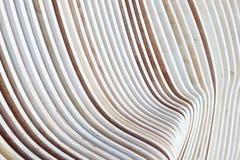 Artistieke Close-up op parallel patroon van houten stroken royalty-vrije stock afbeeldingen