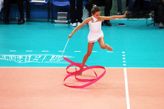 Artistieke gymnastiek Stock Foto
