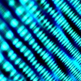 Artistieke Heldere Lichte Achtergrond Abstracte blauwe illustratie Vage Turkooise Vormen van Licht Bent Defocused Lcd Screen Ligh Stock Fotografie