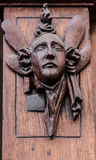 Artistieke houten hulp Royalty-vrije Stock Afbeelding