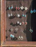Artistieke juwelen voor verkoop Royalty-vrije Stock Foto
