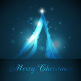Artistieke Kerstmisboom Stock Foto