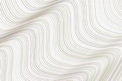 Artistieke lijn, kromme & golf achtergrondpatroonsamenvatting Vector, tekening, vorm & concept stock illustratie