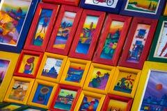 Artistieke Ontworpen Drukken voor Verkoop Royalty-vrije Stock Fotografie