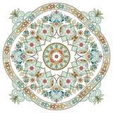 Artistieke reeks drie van het ottomanepatroon Royalty-vrije Stock Afbeelding