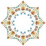 Artistieke reeks vijfendertig van het ottomanepatroon Stock Afbeelding