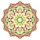 Artistieke reeks zesennegentig van het ottomanepatroon Stock Afbeelding