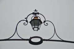 Artistieke straatlantaarn in Bordeaux royalty-vrije stock afbeelding