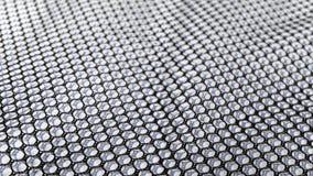 Artistieke zwart-witte textuur van golvende netto Royalty-vrije Stock Foto's