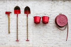 Artistique éteignez-vous les outils de prévention image stock