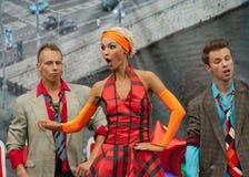 Artists of Ballet Viva-Dance Stock Images